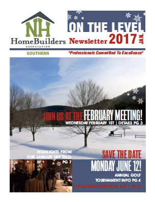 SNHHBRA Newsletter | January 2017