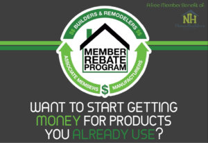 HBA Member Rebate Program for SNHHBRA members